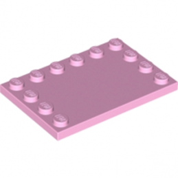 LEGO 4625545	PLATE 4X6 W. 12 KNOBS - Light Purple