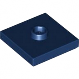 LEGO 4565320 PLATE 2X2 W 1 KNOB - EARTH BLUE lego-4565320-plate-2x2-w-1-knob-earth-blue ici :