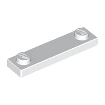LEGO 4597131 PLATE 1X4 W. 2 KNOBS - BLANC lego-4597131-plate-1x4-w-2-knobs-blanc ici :