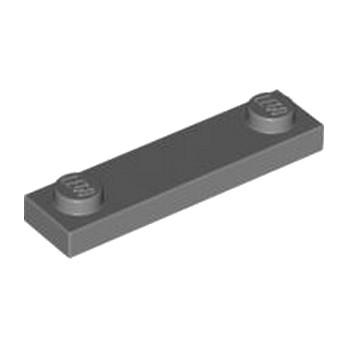 LEGO 4598769 PLATE 1X4 W. 2 KNOBS - Dark Stone Grey