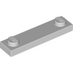 LEGO 4599498 PLATE 1X4 W. 2 KNOBS - Medium Stone Grey