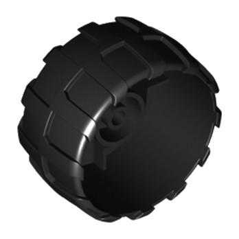 LEGO 6097664 ROUE Ø56 - NOIR