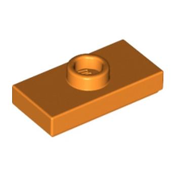 LEGO 4159973 PLATE 1X2 W. 1 KNOB - Bright Orange