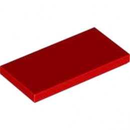 LEGO 4560179 PLATE LISSE 2X4 - ROUGE