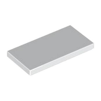 LEGO 4560178 PLATE LISSR  2X4 - BLANC