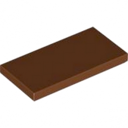 LEGO 4579690 PLATE LISSE  2X4 - REDDISH BROWN lego-4579690-plate-lisse-2x4-reddish-brown ici :