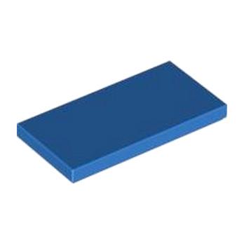 LEGO 4560180 PLATE LISSE 2X4 - BLEU