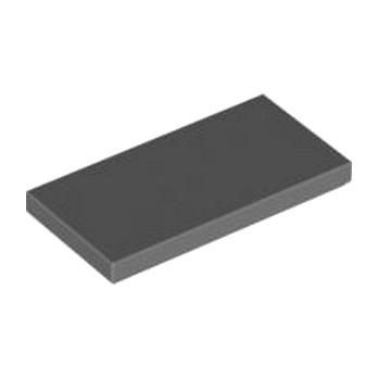 LEGO 4560184PLATE LISSE 2X4 - Dark Stone Grey