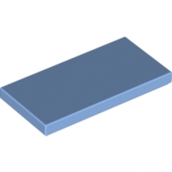 LEGO 6146503 PLATE LISSE 2X4 - MEDIUM BLUE