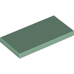 LEGO 4633693 PLATE LISSE 2X4 - SAND GREEN