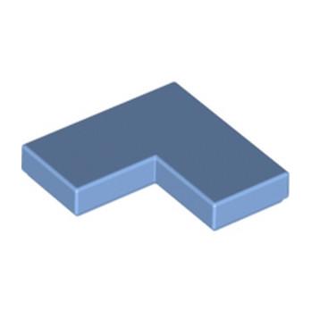 LEGO 6167572 - Plate Lisse Angle 1X2X2 - Médium Blue