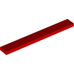 LEGO 416221 PLATE LISSE 1X8 - ROUGE lego-416221-plate-lisse-1x8-rouge ici :