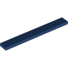 LEGO 4264587 PLATE LISSE 1X8 - Earth Blue