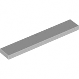 LEGO 4211549 PLATE LISSE 1X6 - Medium Stone Grey