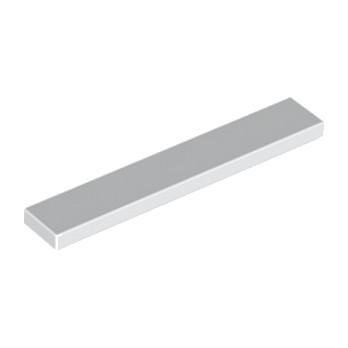 LEGO 663601 PLATE LISSE 1X6 - BLANC lego-663601-plate-lisse-1x6-blanc ici :