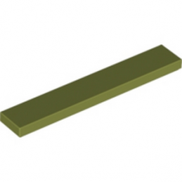 LEGO 6016484 PLATE LISSE 1X6 - Olive Green