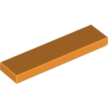 LEGO 4160593  PLATE LISSE 1X4 ORANGE