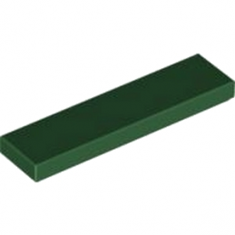 LEGO 4248267	PLATE LISSE 1X4 - Earth Green