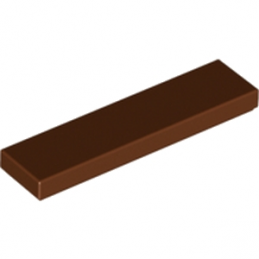LEGO 4211194 PLATE LISSE 1X4 - Reddish Brown