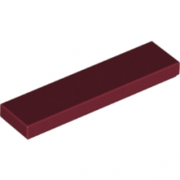 LEGO 4164220 PLATE LISSE 1X4 - NEW DARK RED