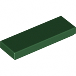 LEGO 4650622 PLATE LISSE 1X3 - EARTH GREEN