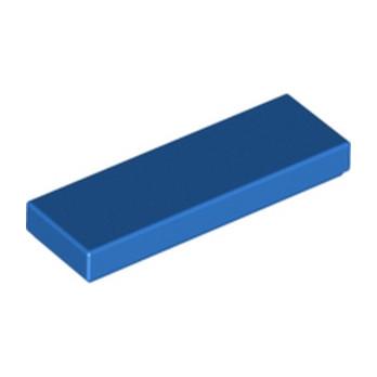 LEGO 4587840 FLAT TILE 1X3 - BLUE