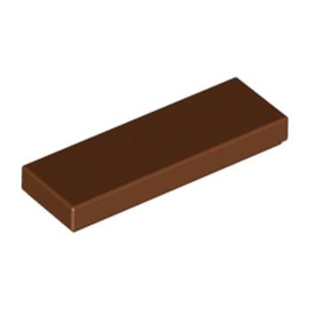 LEGO 4666343 PLATE LISSE 1X3 - REDDISH BROWN