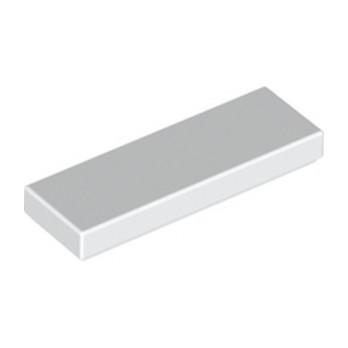 LEGO 4558168 PLATE LISSE 1X3 - BLANC