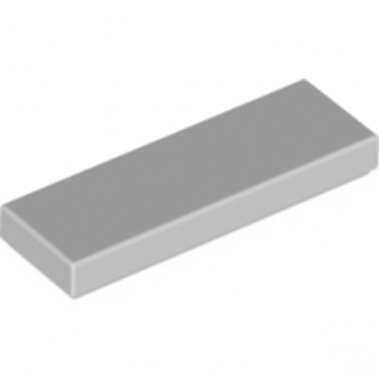 LEGO 4558169 FLAT TILE 1X3 - MEDIUM STONE GREY