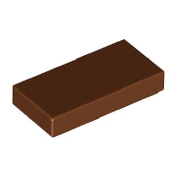 LEGO 4211151 Plate Lisse 1X2 - Reddish brown lego-4211151-plate-lisse-1x2-reddish-brown ici :