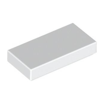 LEGO 306901 PLATE LISSE 1X2 - BLANC