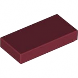 LEGO 4165783 Plate Lisse 1X2 - New Dark Red