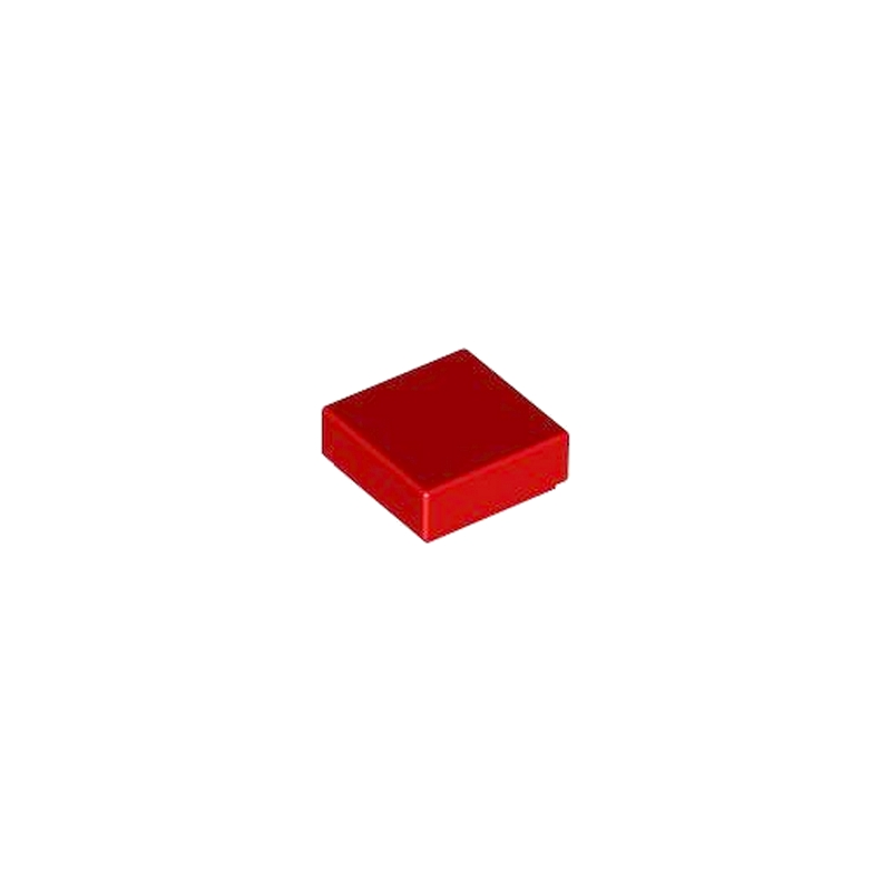 307021 Lego Carreau 1 x 1 rouge 10 Pièce