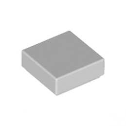 LEGO 4211415  PLATE LISSE 1X1 - Medium Stone Grey
