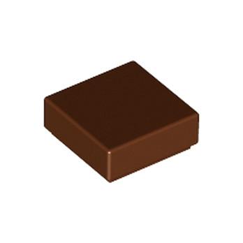 LEGO 4211288 FLAT TILE 1X1 - REDDISH BROWN