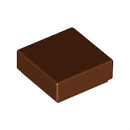 LEGO 4211288 PLATE LISSE 1X1 - Reddish Brown