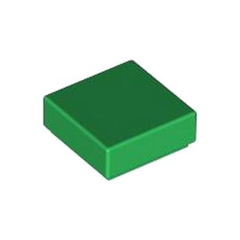 LEGO 307028 PLATE LISSE 1X1 - Dark Green