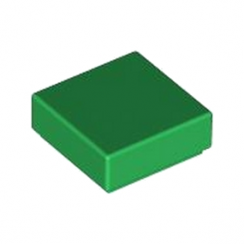 LEGO 4558593 FLAT TILE 1X1 - DARK GREEN