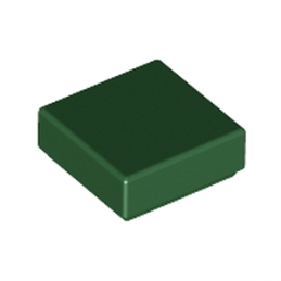 LEGO 6055171 PLATE LISSE 1X1 - Earth Green
