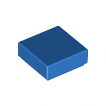 LEGO 307023 PLATE LISSE 1X1 - BLEU lego-4206330-plate-lisse-1x1-bleu ici :