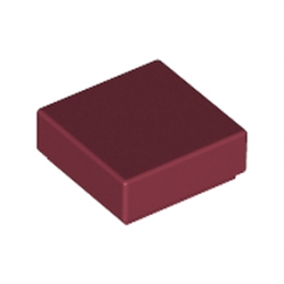 LEGO 4550169 PLATE LISSE  1X1 - NEW DARK RED
