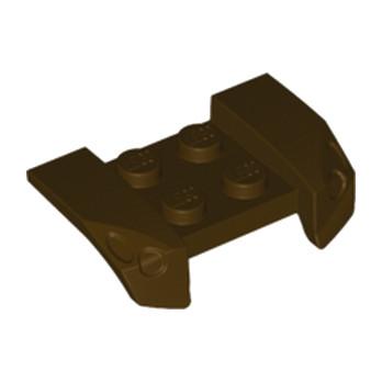 LEGO 6172302 RACERS GUARD 2,5 X 4 - Dark Brown
