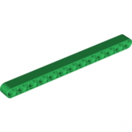 LEGO 6036632 TECHNIC 13M BEAM - Dark Green