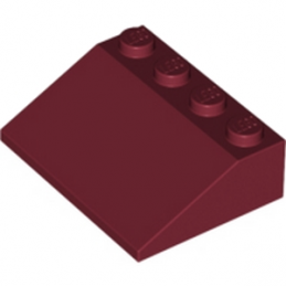 LEGO 329702 - Tuile 3X4/25° - New Dark Red