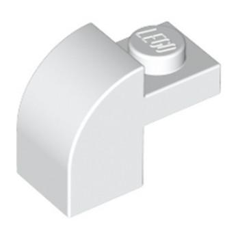 LEGO 609101 BRIQUE ARCHE 1X1X1 1/3 - BLANC lego-6285777-brique-arche-1x1x1-13-blanc ici :