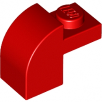 LEGO 609121 BRIQUE ARCHE 1X1X1 1/3 - ROUGE