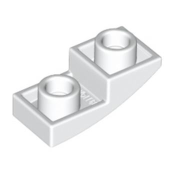LEGO 6172927 - Dome INV. 1X2X2/3 - Blanc