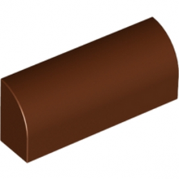 LEGO 6035561 - BRIQUE 1X4X1 1/3 - Reddish Brown