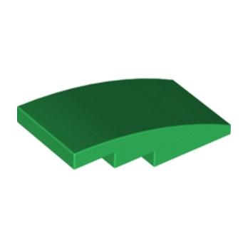 LEGO 6100244 - BRICK W. BOW 2X4 - DarK Green