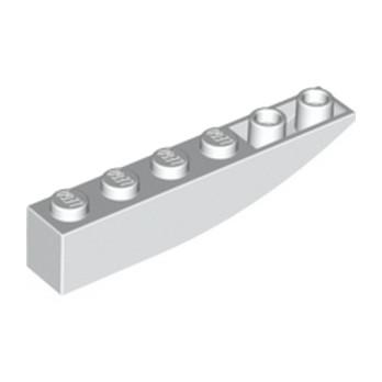 LEGO 4160403 BRICK 1X6 W BOW, REV. - BLANC